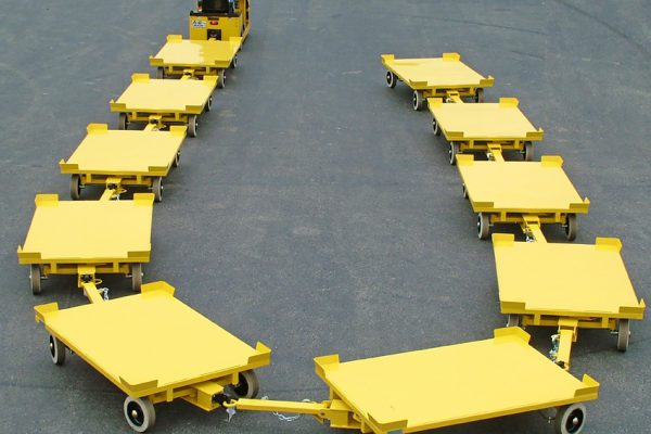 Towable Industrial Carts