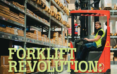 FORKLIFT REVOLUTION: SUSTAINABLE, EASIER TO MAINTAIN AND AUTONOMOUS