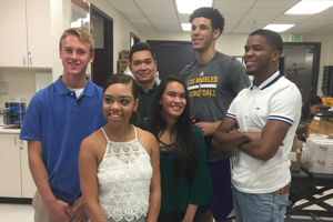 Students Win Trip to Shadow Magic Johnson