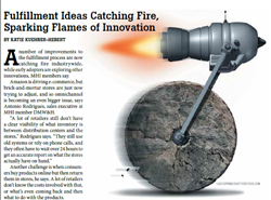 FULFILLMENT UPDATE: Fulfillment Ideas Catching Fire, Sparking Flames of Innovation