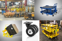 SAFER HANDLING: Ergonomic Industrial Cart and Caster Solutions