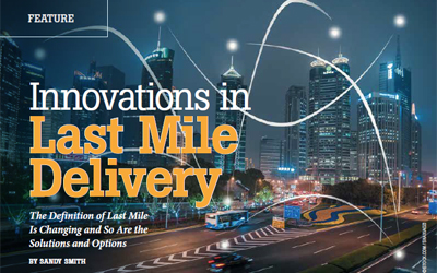 Innovations in Last Mile Delivery