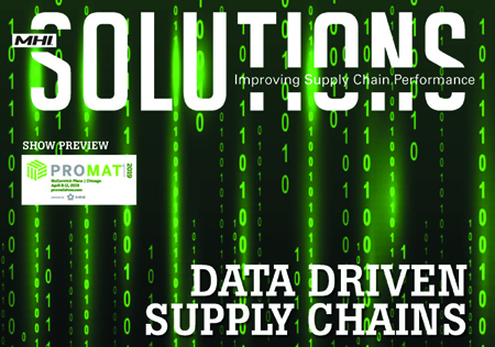 Q1 2019, MHI Solutions: DATA-DRIVEN SUPPLY CHAINS
